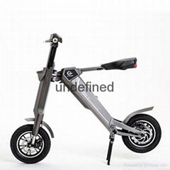 智能自动折叠时尚电动车,代步车
