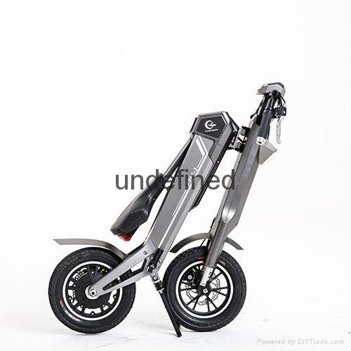 智能自动折叠时尚电动车,代步车 3