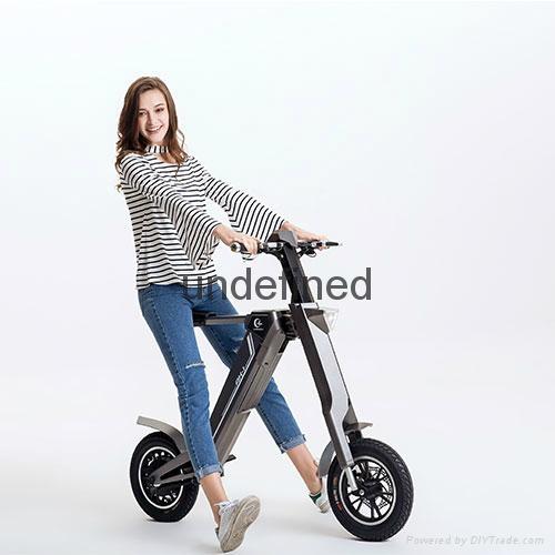 智能自动折叠时尚电动车,代步车 4