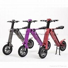 智能全自动可折叠时尚电动车代步车