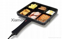 6 in 1 multi frying pan