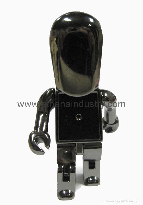 Fashion robert metal USB driver jewelry 1