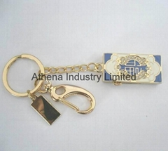 Fashion metal enamel USB driver jewelry