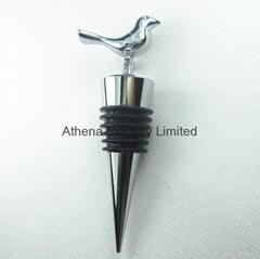 裝飾小鳥動物金屬酒瓶塞