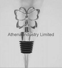 Metal Butterfly wine bottle stopper cap
