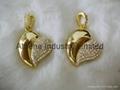 Fashion Heart shaped metal USB driver jewelry 2