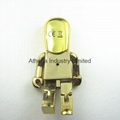 Fashion robert metal USB driver jewelry