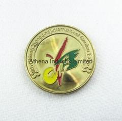 西安世园会金属滴油会徽