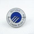 Metal badge /w epoxy
