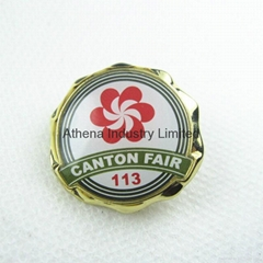Canton Fair 113th metal badge