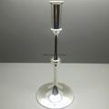Zamac die casting Candleholder (chrome