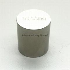 Simple round perfume bottle cap