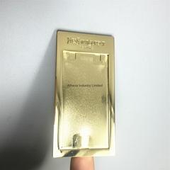 方形金属化妆镜