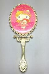 手柄金属化妆镜