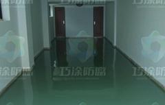 四川成都环氧树脂防静电自流平地坪涂装系统