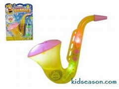 B/O BUBBLE GUN TOYS WITH MUSIC&LIGHT
