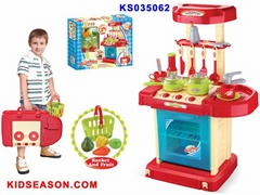 KIDSEASON PRETEND KITCHEN TOYS PLAY SET