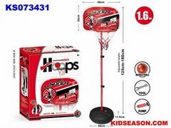KIDSEASON 160cm kids sport toys basketball stand set