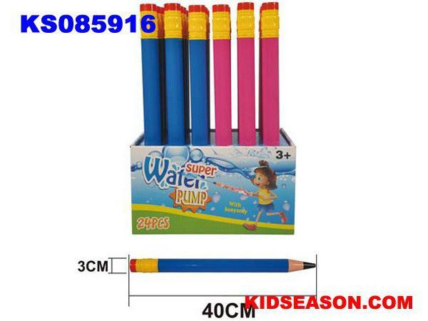 KIDSEASON 40cm pencil shaped pump up water gun toys 1