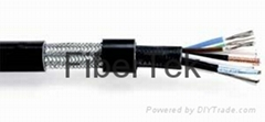 CCTV cable - Armoured composite cable