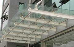 上海玻璃雨棚