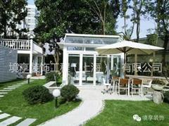 境享装饰定制服务为您打造完美私家庭院阳光房