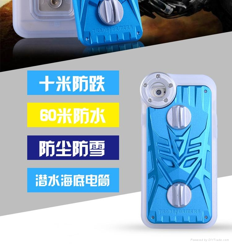 Ip6 apple camera phones underwater special waterproof cover 2