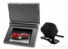 金吉通分體式雙鏡頭行車記錄儀