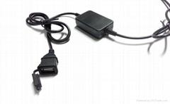 摩托車USB手機充電器