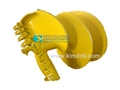 Flat or Butterfly Clay Auger
