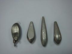 Tungsten alloy fish fall