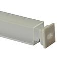 squar aluminum LED extrusion for corner