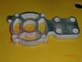 水刀切割机械铝制零件 2