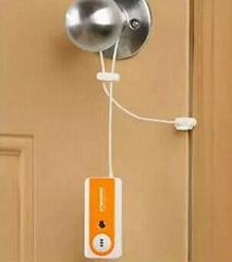 travel door alarm