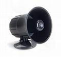 waterfproof 130db alarm siren,car alarm