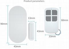 130db door bell /door alarm/magnetic alarm/door magnetic alarm