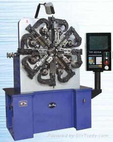 銀豐2.5毫米電腦CNC  數控彈簧加工設備 1