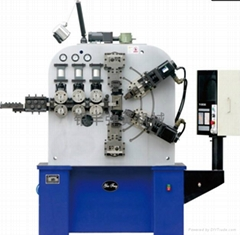 鎮江電腦六軸6mm汽配壓簧成型機