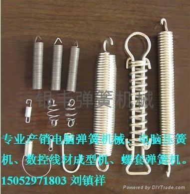 銀豐數控3.5mm線材電阻彈簧成型機 2