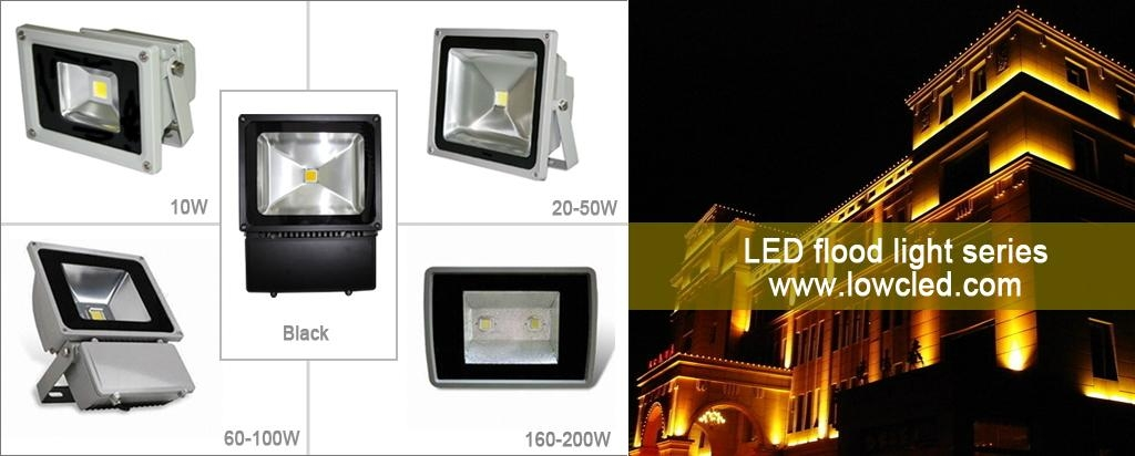 Long lifespan LED Flood light with IP65 protection CE, ROHS approved