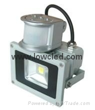 10W IP65 Bridgelux/UL Mean well driver LED Flood light CE, ROHS