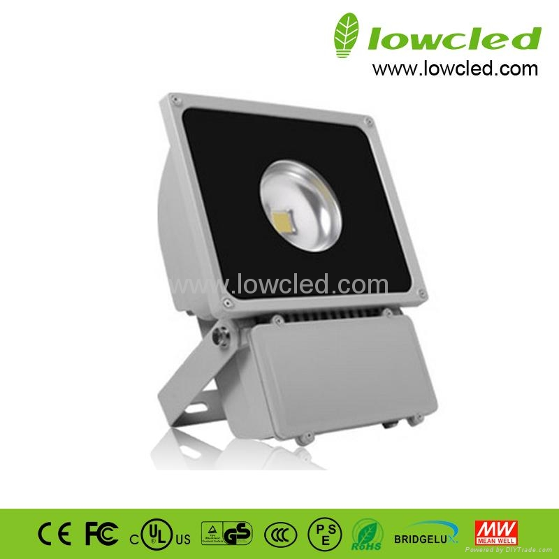 Lowcled 60watts Bridgelux led flood light with EMC, LVD, CE, ROHS certificate