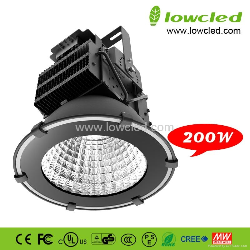 200W high power IP65 LED High Bay Light with CE+EMC+LVD+ROHS