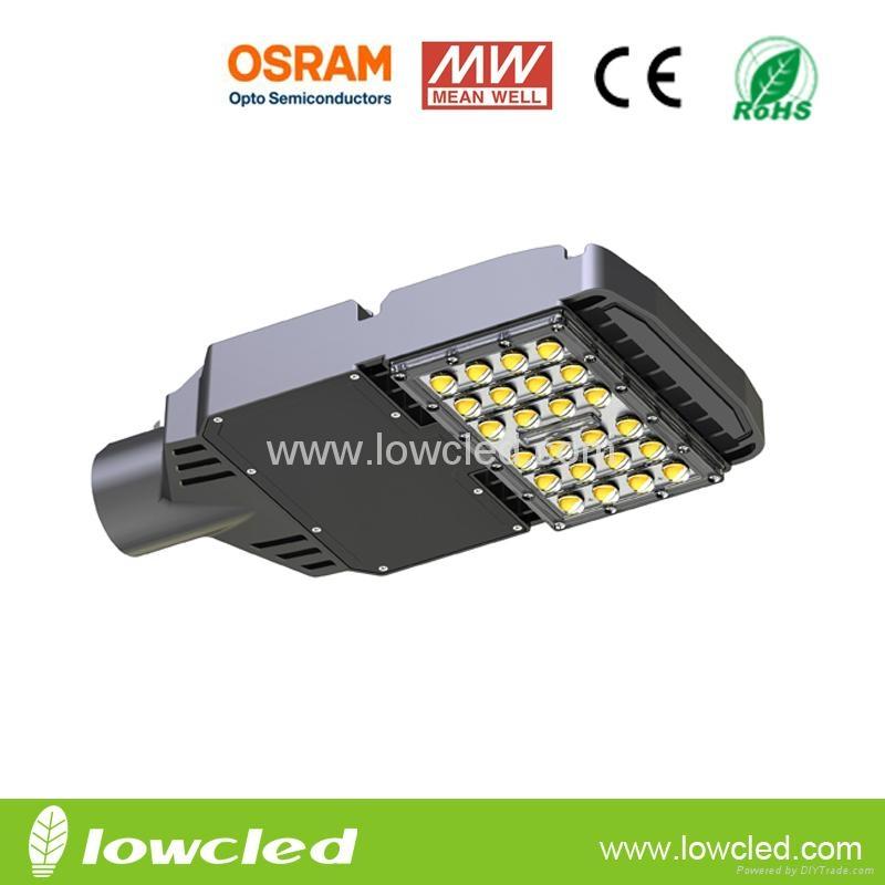 IP65 40W Osram High power MEAN WELL led street light