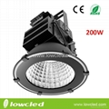 200W IP65 CREE XTE LED High Bay Light with CE+EMC+LVD+ROHS, 5years warranty
