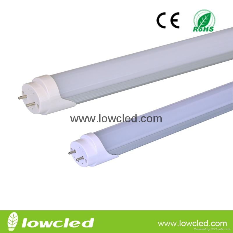 32W SMD3014 2400mm LED Tube Light T8 with CE, EMC, LVD, ROHS, 3years warranty