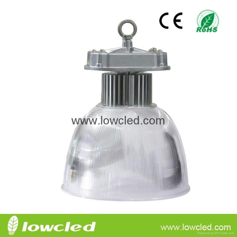 80W Bridgelux UL MEAN WELL IP65 LED High Bay Light with CE+EMC+LVD+ROHS, PC refl