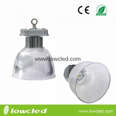 90W PC reflector Bridgelux UL MEAN WELL IP65 LED High Bay Light with CE,ROHS