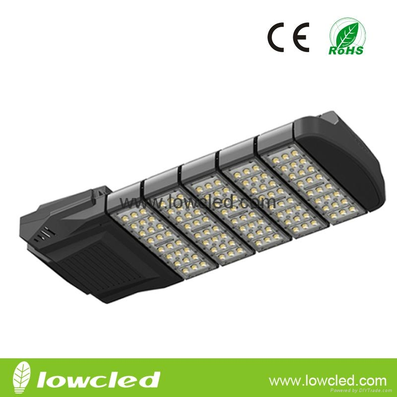 150W CREE MEAN WELL IP66 modular LED STREET LIGHT with CE, ROHS, PSE,UL