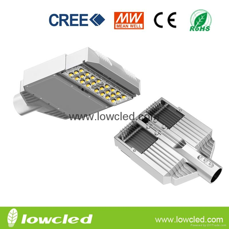 IP65 50W CREE High power MEAN WELL led street light with CE, ROHS, 3years warran